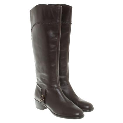 Salvatore Ferragamo Boots in Brown
