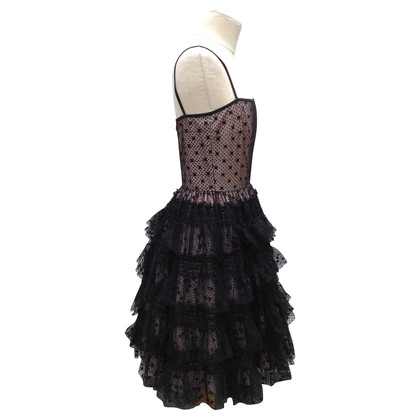 Red Valentino Lace dress with petticoat