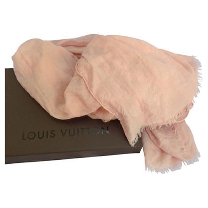 Louis Vuitton Roze sjaal