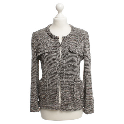 Isabel Marant Etoile Short jacket in Black / White