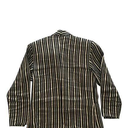 Gianni Versace Giacca con motivo a strisce