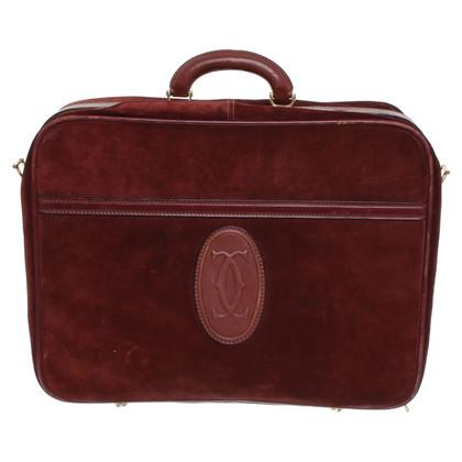 Cartier Koffer in Bordeaux