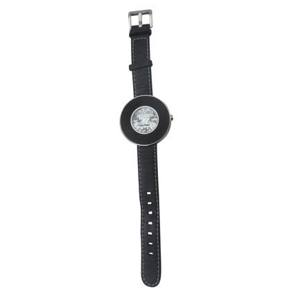 Moschino Cheap and Chic Schwarze Armbanduhr