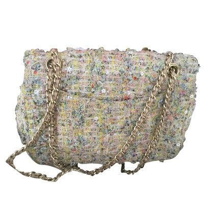 "Chanel ""Tweed Garden Party 2:55 Reissue Flap Bag"""