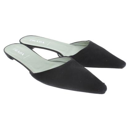 Prada Pantofola in Black