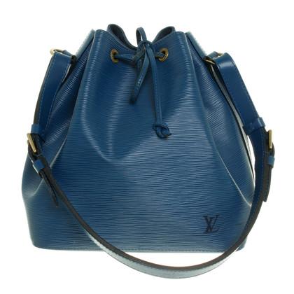 Louis Vuitton Petit Noé EPI leather Toledo blue