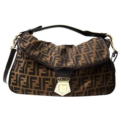 Fendi Handbag with logo pattern
