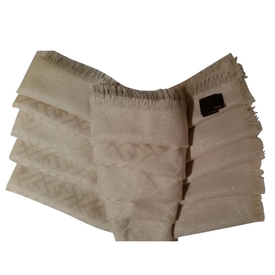 Fendi Tuch aus Wolle/Seide