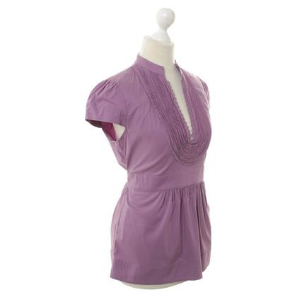 BCBG Max Azria Bluse in Lavendel
