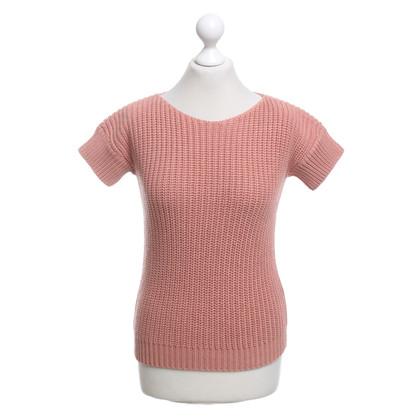 Brunello Cucinelli Short sleeve pullover in pink