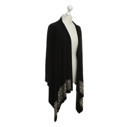 Lauren Moshi Cardigan with an asymmetrical seam