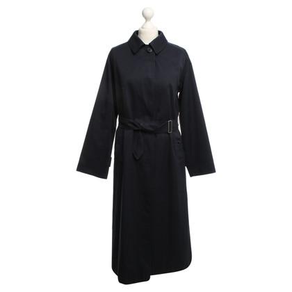 Burberry Coat in dark blue