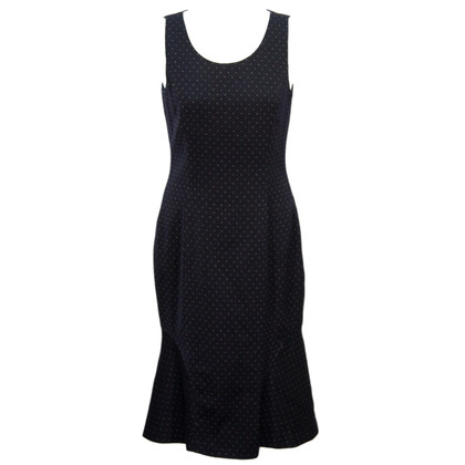 Hobbs Spot Dress in wool