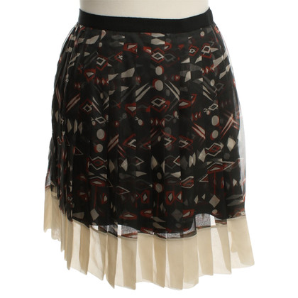 Christian Dior Silk skirt with pattern