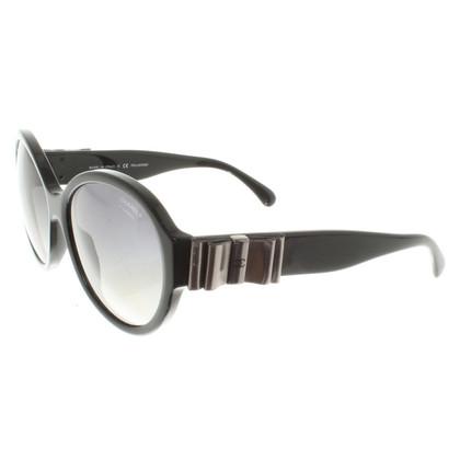 Chanel Zonnebril in zwart