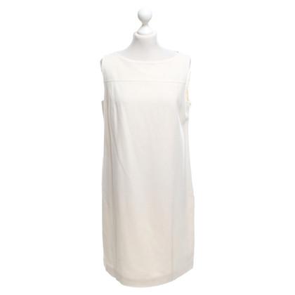 Max Mara Crèmekleurige jurk gemaakt van wol