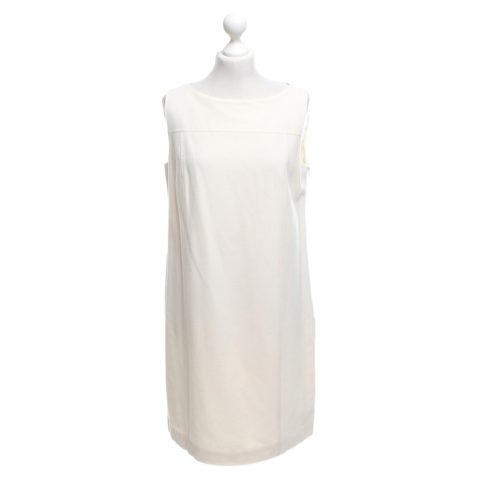 Max Mara Cremefarbenes Kleid aus Wolle