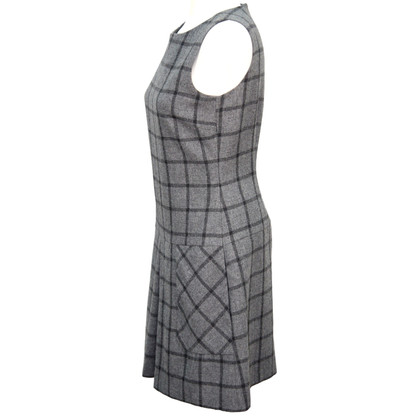 Hobbs Plaid Wool Dress