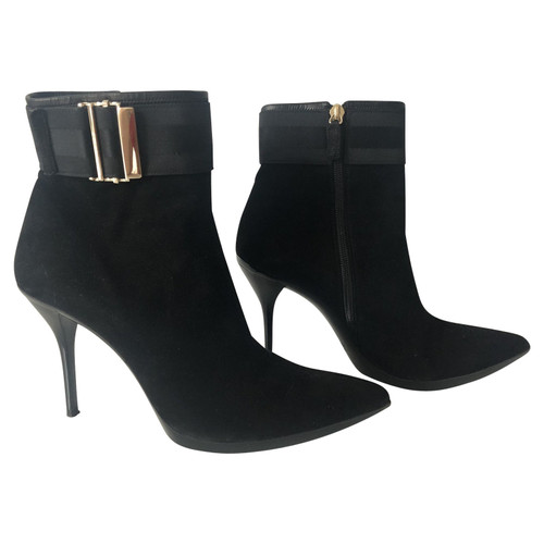 b65e51d6e Gucci Suede ankle boots - Second Hand Gucci Suede ankle boots buy ...
