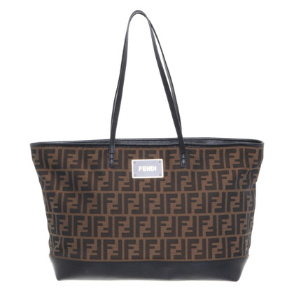 Fendi Shopper met logopatroon
