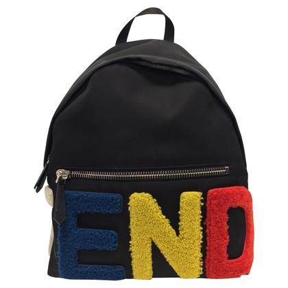 Fendi Black backpack