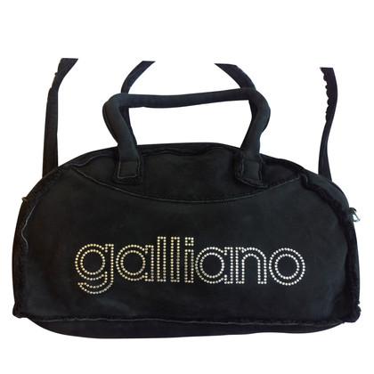 John Galliano Handtasche aus Lammfell