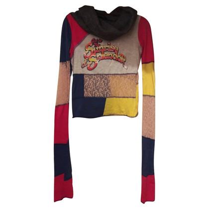 D&G Long sleeve shirt with wool collar
