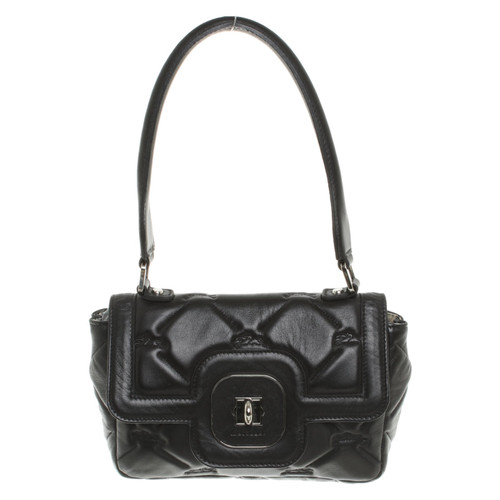 f48bce4cad0b Longchamp Handbag in black - Second Hand Longchamp Handbag in black ...