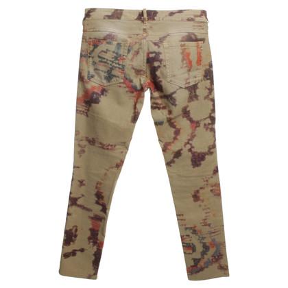 Isabel Marant Jeans Tie Dye