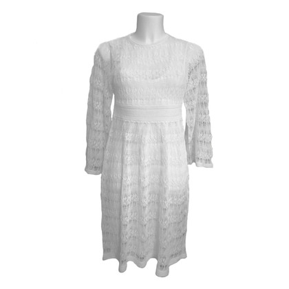 Isabel Marant Dress of white lace