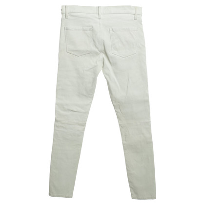 Frame Denim Leather pants in cream
