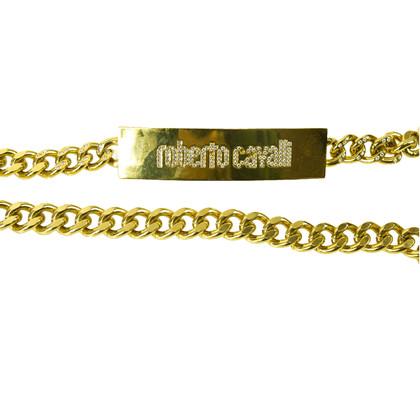 Roberto Cavalli Roberto Cavalli keten riem met kristallen