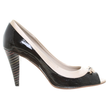 Paul Smith Pumps in Schwarz/Beige