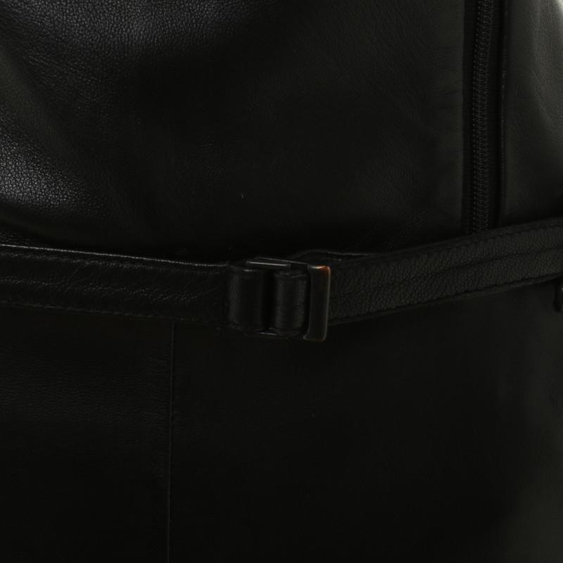 Hugo boss lederkleid