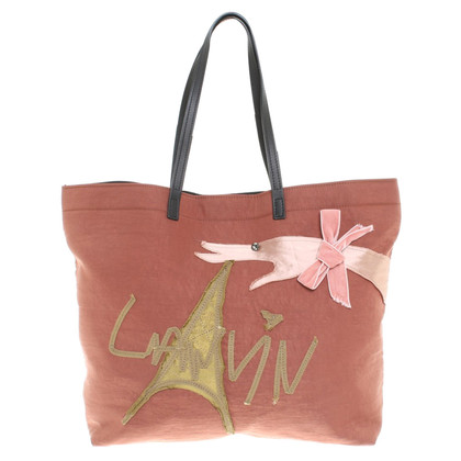 "Lanvin Borsa ""Tour Eiffel"" a Brown"