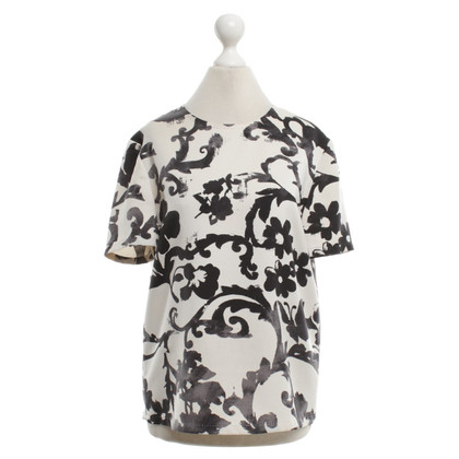 Moschino Cheap and Chic Top con stampa floreale