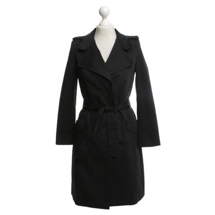 Drykorn Trenchcoat in black
