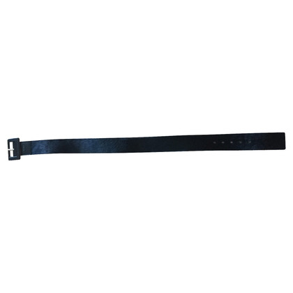 Calvin Klein Wide belt 'Felloptik' black