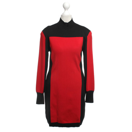 Balmain X H&M Dress in Black / Red