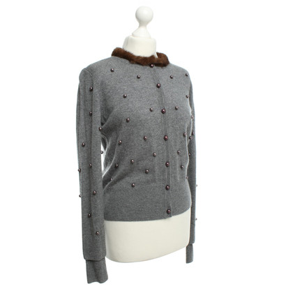 Thomas Rath Cashmere cardigan in gray