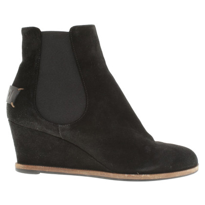 Fendi Wedges in Schwarz