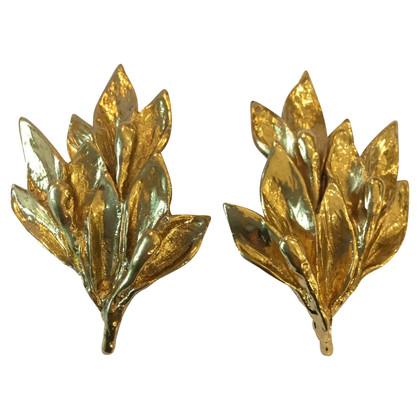 Yves Saint Laurent Earrings in gold