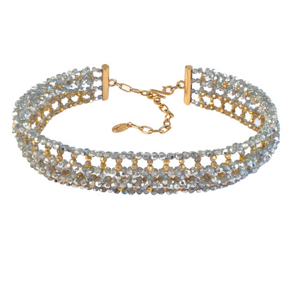 Daniel Swarovski Gold and silver tone necklace