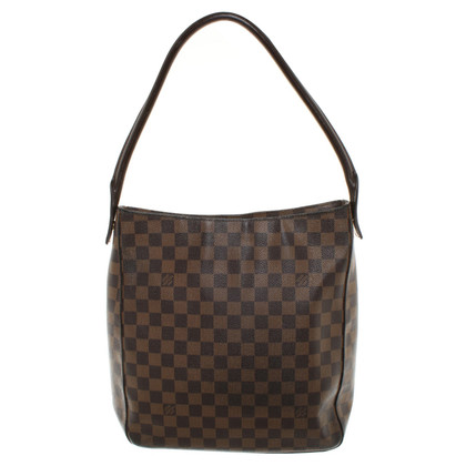 "Louis Vuitton ""Looping Damier Ebene Canvas"""
