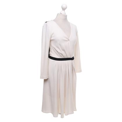Diane von Furstenberg Wikkel jurk in beige