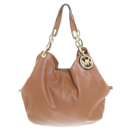 "Michael Kors ""Fulton"" bag in Brown"