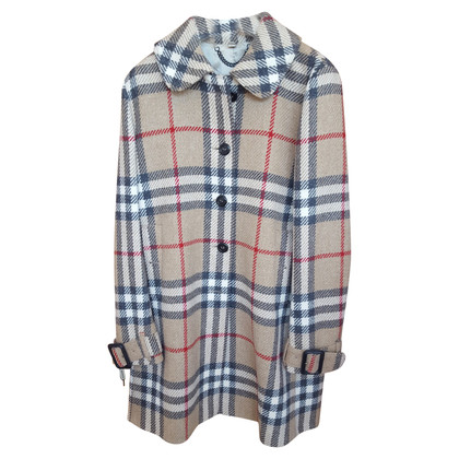 Burberry cappotto di lana