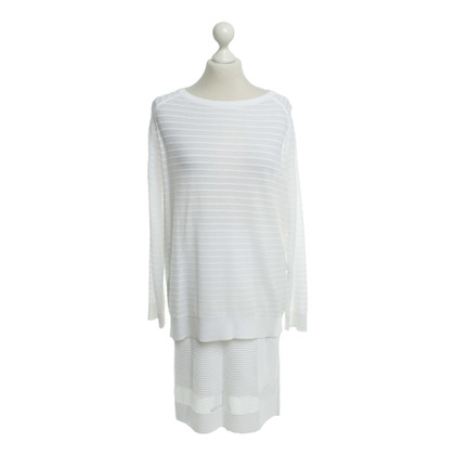 Marc Cain Costume in white