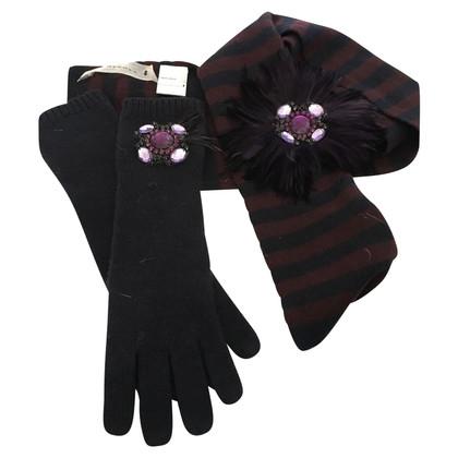 Schumacher Scarf and gloves