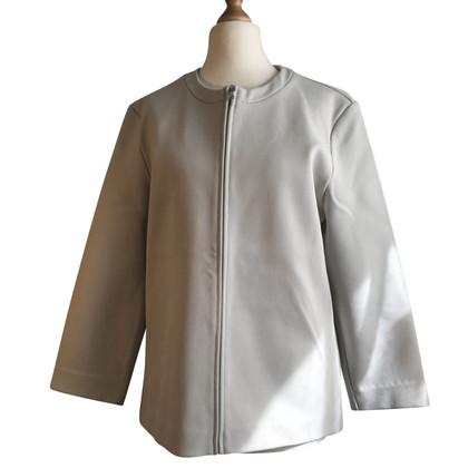 Prada blazer silver